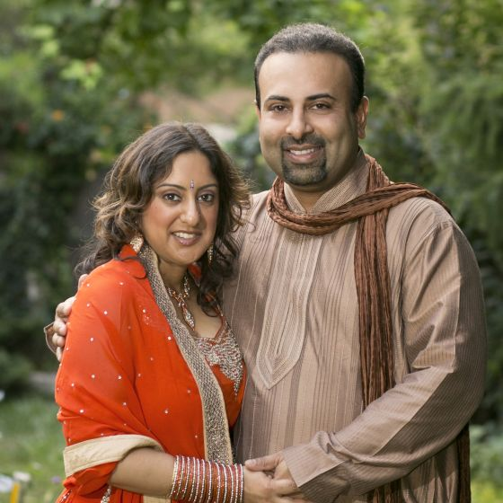 Adoptive Family - Sundaresh & Anita