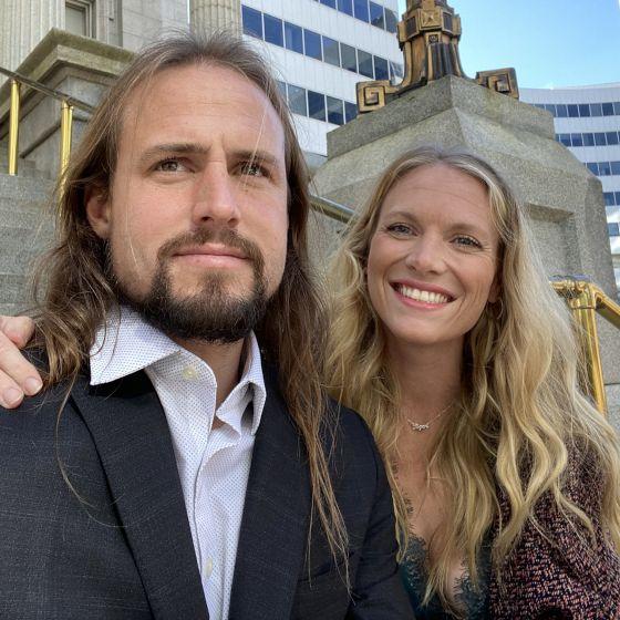 Adoptive Family - Beau & Natalie