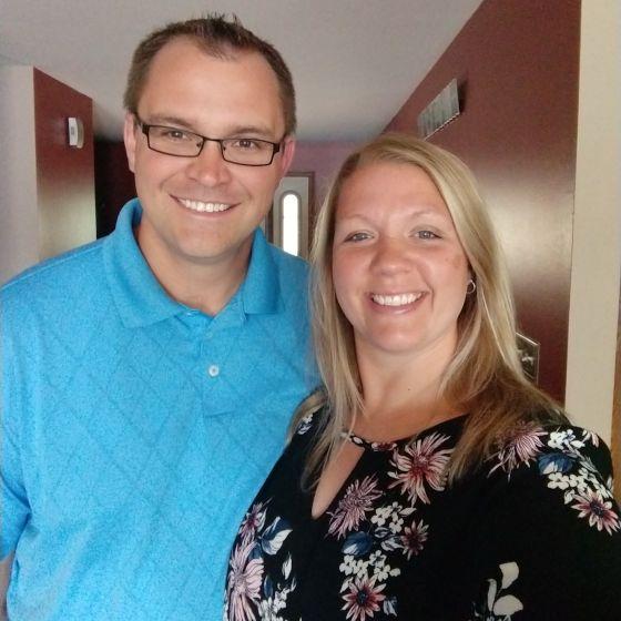 Adoptive Family - Mike & Amy