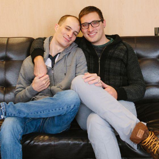 Adoptive Family - Paddy & Ethan
