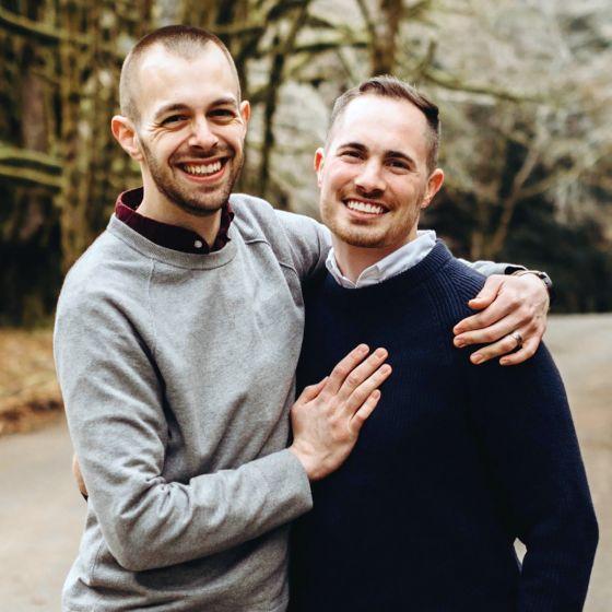 Adoptive Family - Alex & Garth