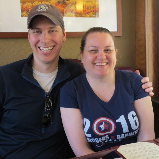 Adoptive Family - Mike & Sara