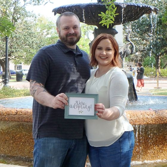 Adoptive Family - David & Kristen