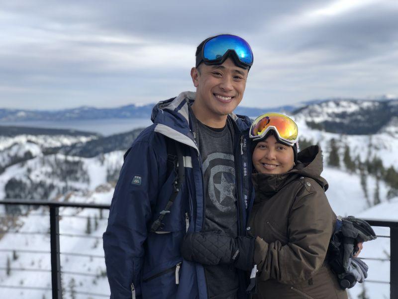 Skiing in Tahoe