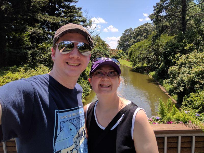 Enjoying a Walk Through the Botanical Gardens