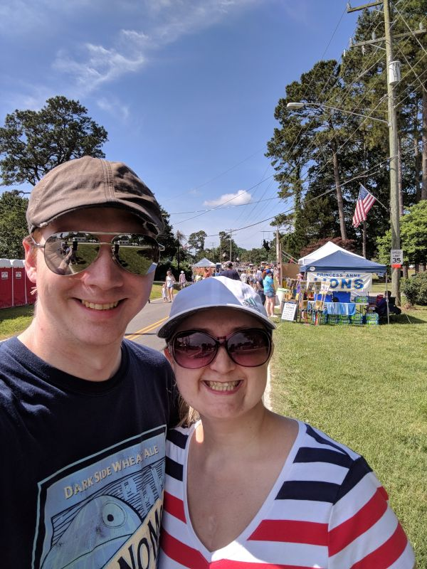 Enjoying a Summer Day at the Stawberry Festival