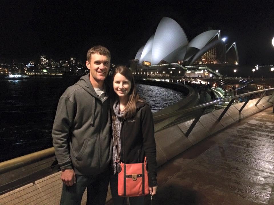 At the Sydney Opera House