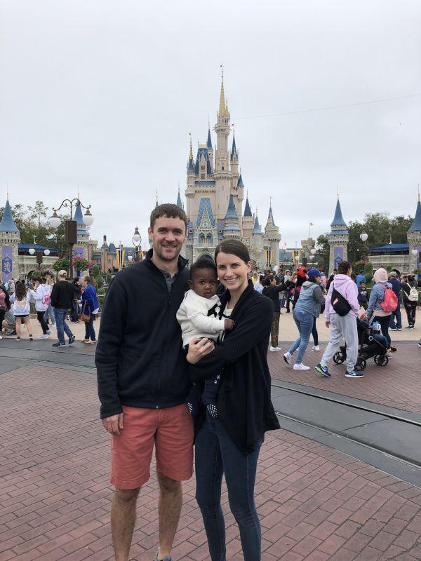 Finn's First Visit to Disney World