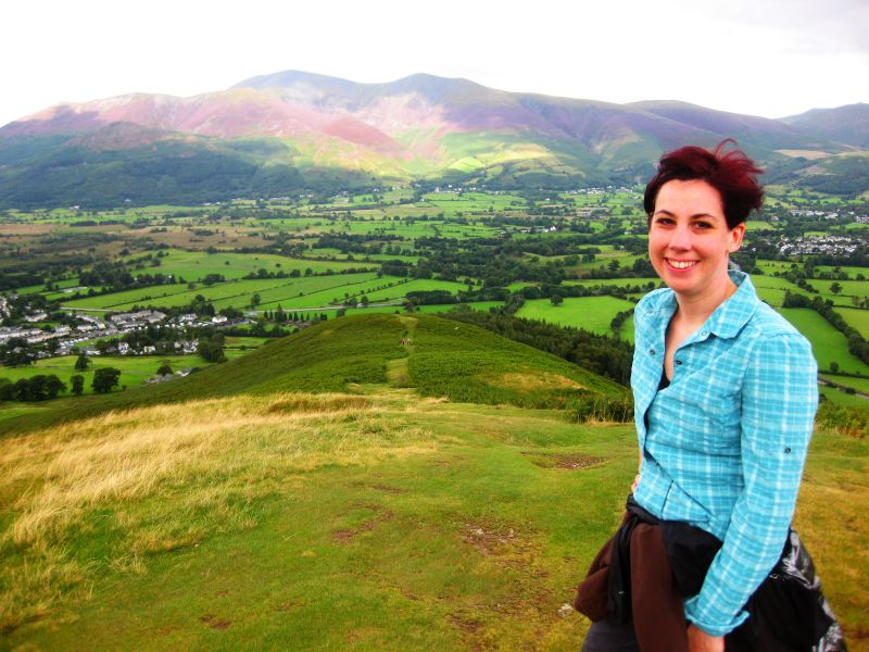 Enjoying the View in the Lakes District