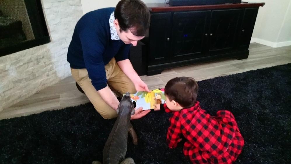 Storytime With Our Nephew & Toth