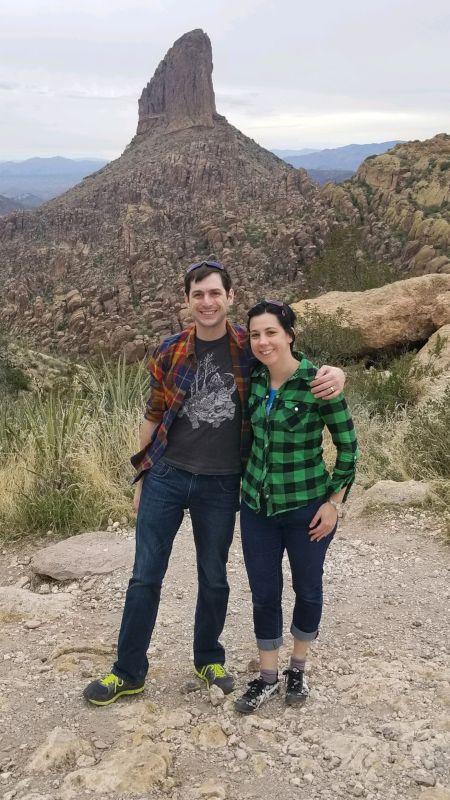 Hiking to Weaver's Needle in Arizona