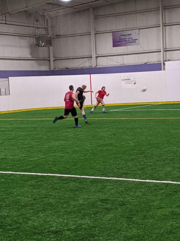 Cody Playing Soccer