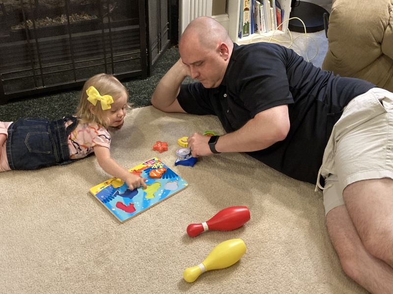 Puzzles With Our Best Friend's Daughter