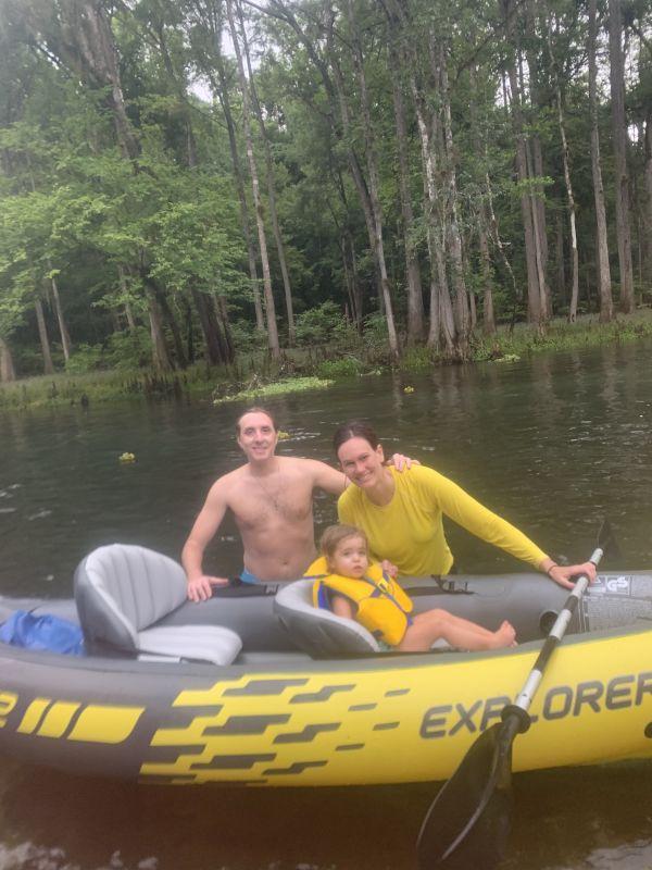 Kayaking at a State Park