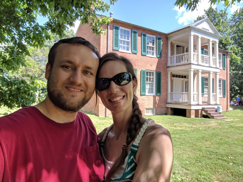 Visiting a Local Historic Home
