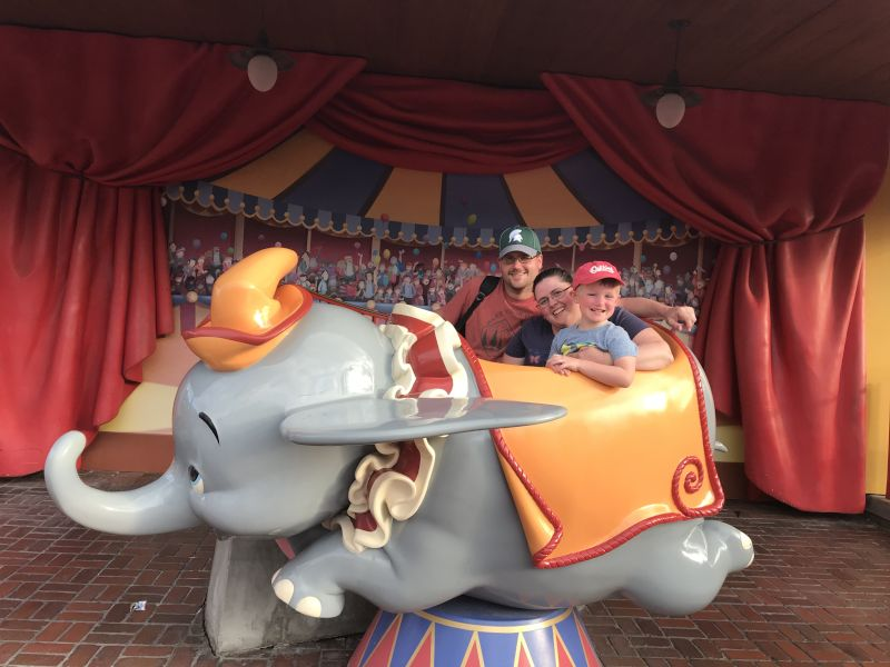 Fun at Disney
