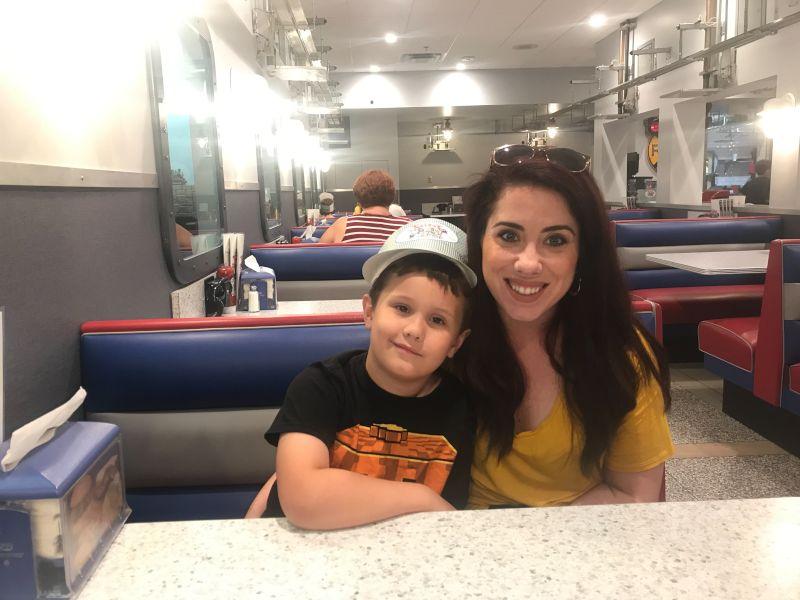 Ashley & Our Nephew