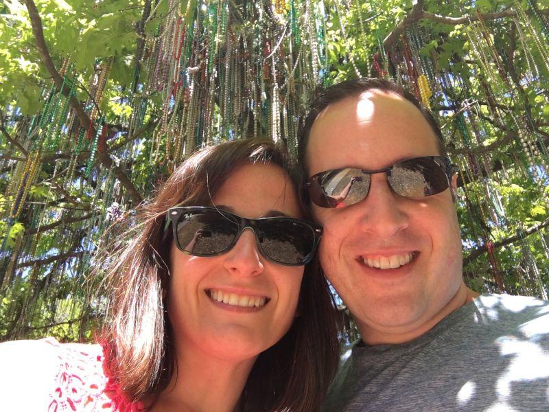 Mardi Gras Tree in New Orleans
