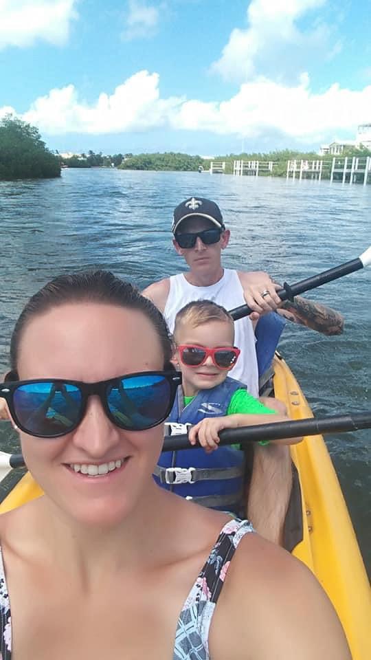 Kayaking Together