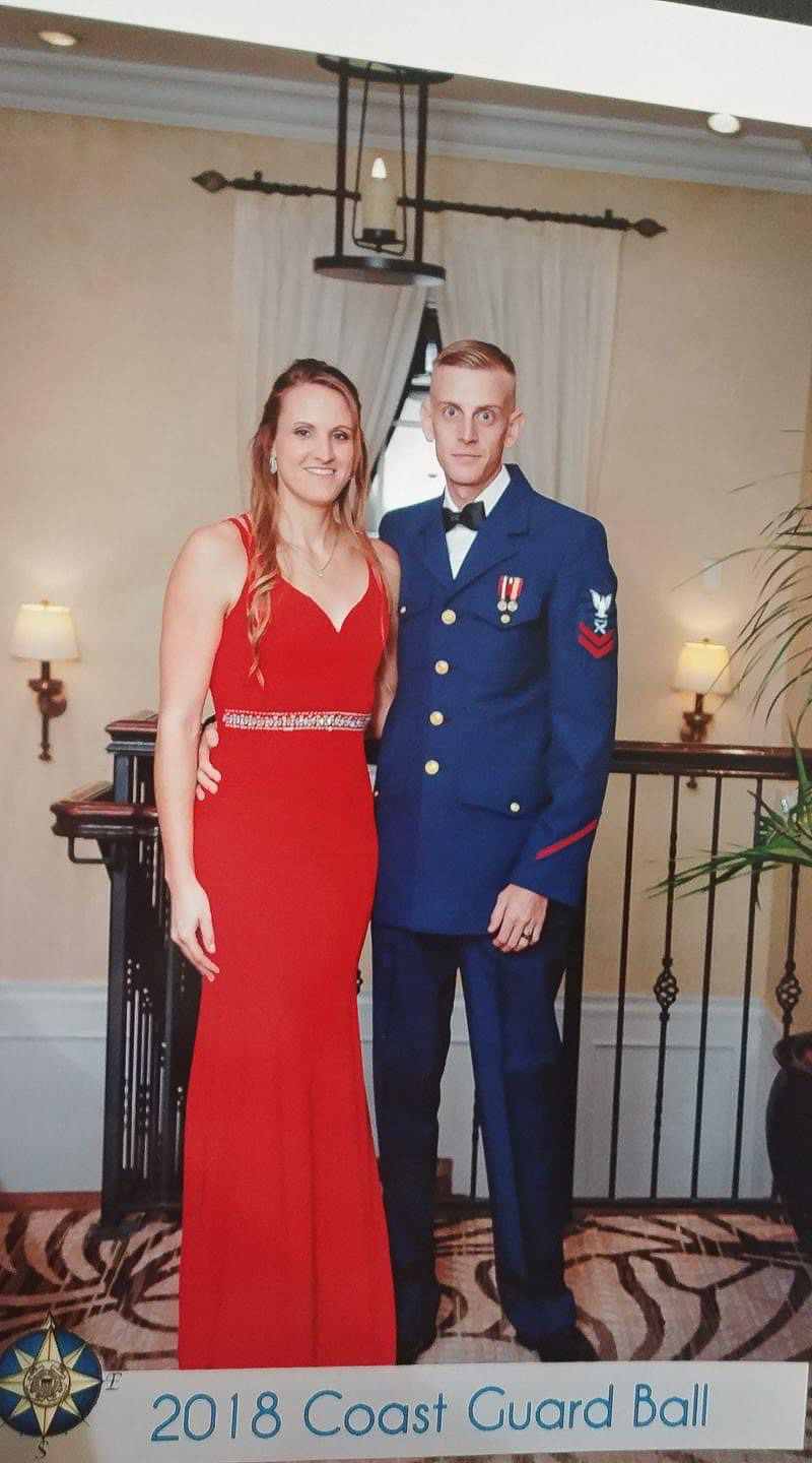 Dressed Up for the Coast Guard Ball