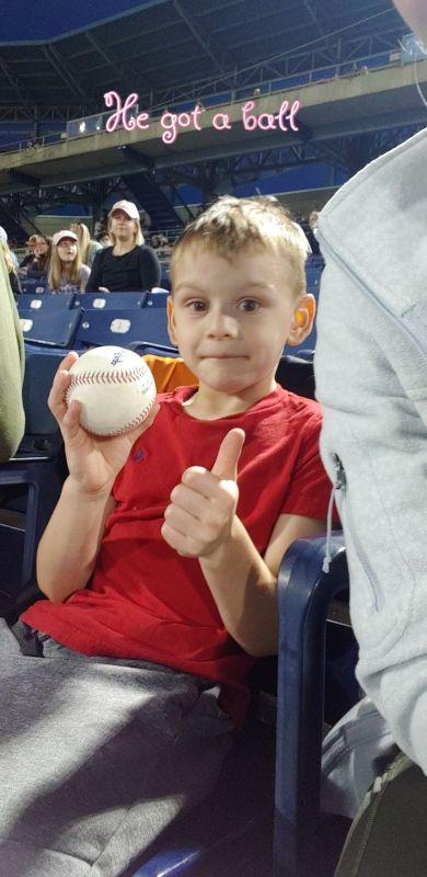 Stone Got a Ball!