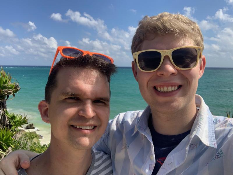 Enjoying Cancun