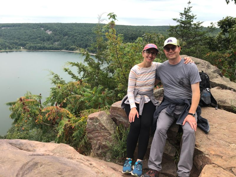 Hiking in Wisconsin