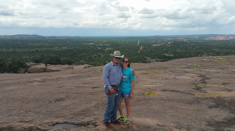 Hiking Enchanted Rock