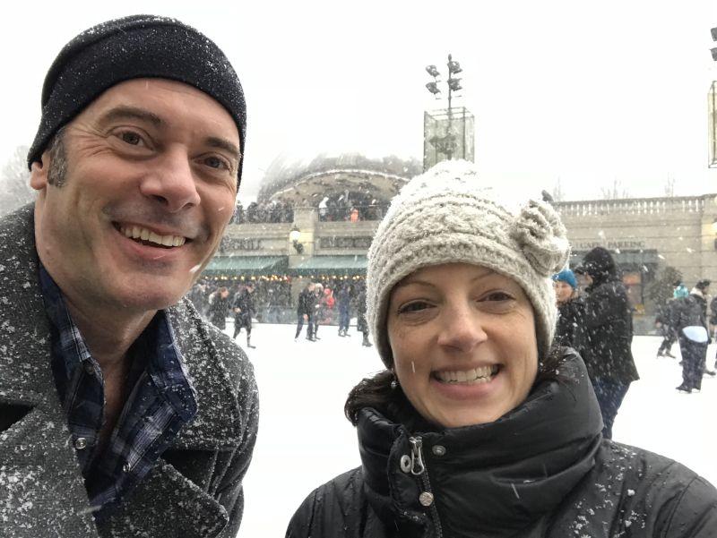 Ice Skating in Chicago