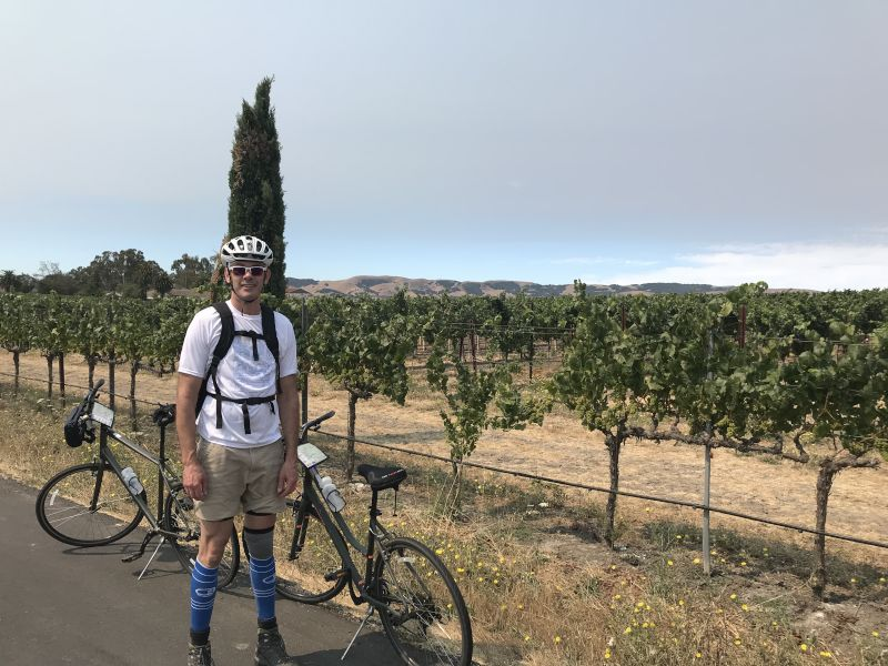 Biking Adventure in California