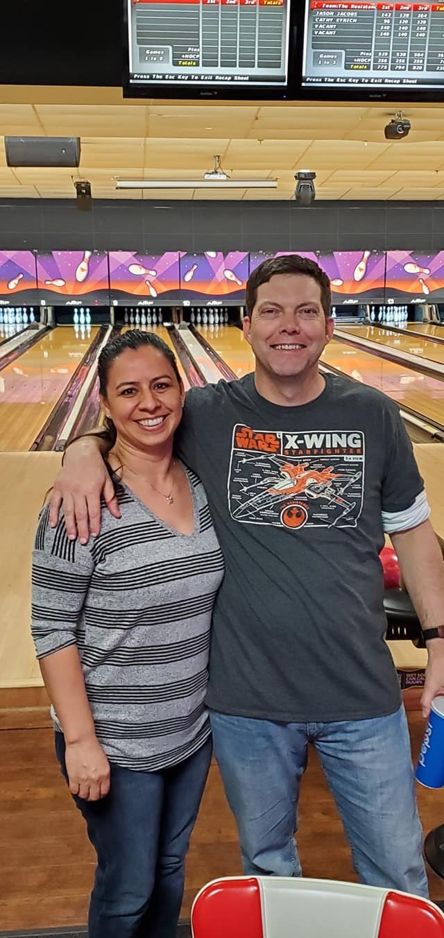 One of our  Favorite Activities - Bowling