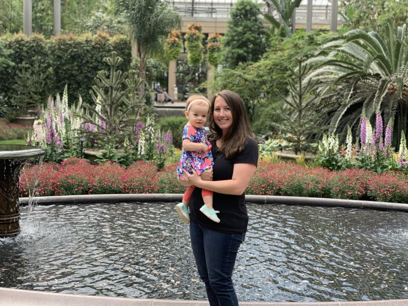 Visiting the Garden Conservatory